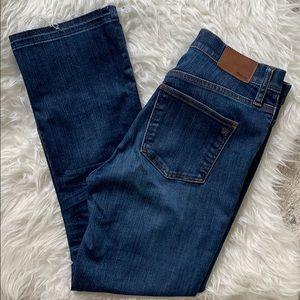 madewell high waist jean